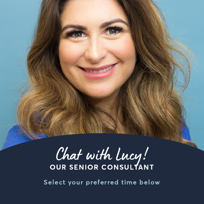 Chat with Lucy, our senior consultant