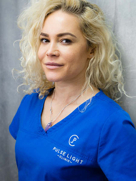 Senior, laser hair removal therapist at Pulse Light Clinic