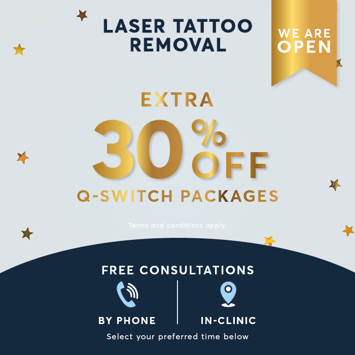 Christmas Offer Tattoo removal popup