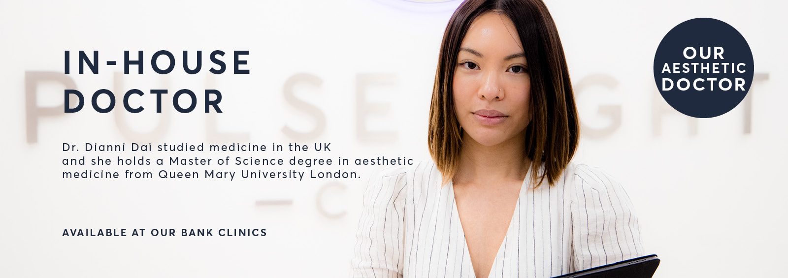 Doctor Dianni Dai an expert in injectable treatments
