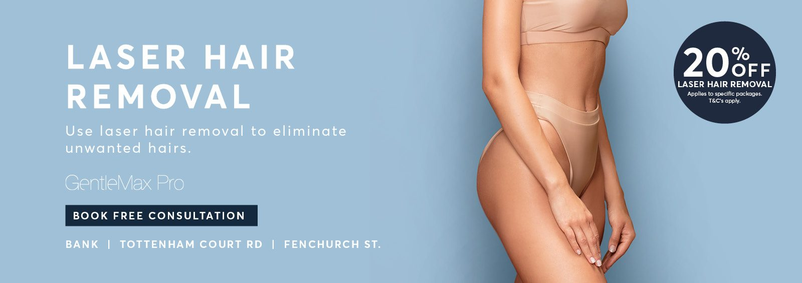 Pulse Light Clinic Laser Hair Removal Near me Offers